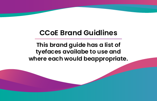 CCOE Brand Guidelines​